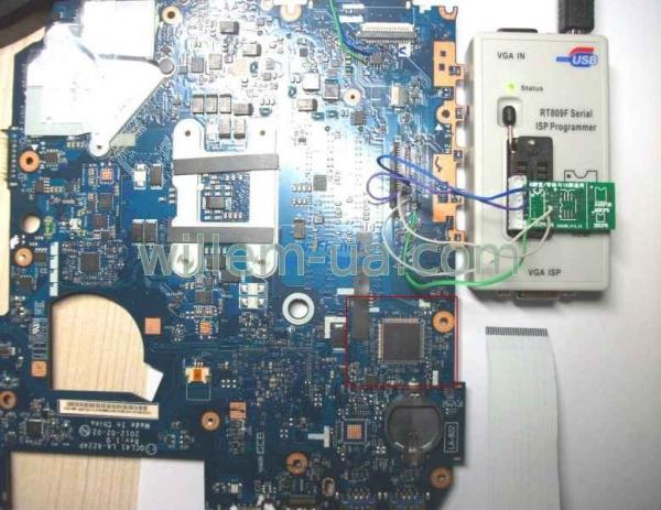 Программатор для kb9012qf своими руками